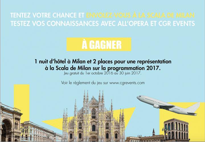 Jeu-concours ALL'OPERA 2016-2017