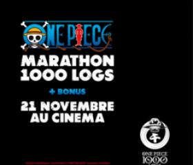 Marathon One Piece 1000 Logs