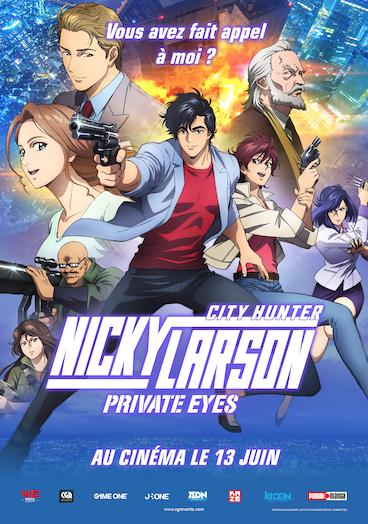 Nicky Larson Private Eyes - City Hunter