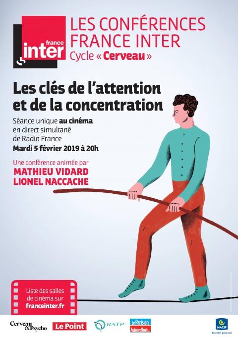 Les clés de l'attention et de la concentration - Conférence France Inter