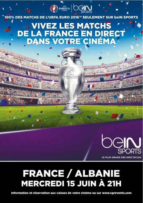 UEFA EURO 2016 | match France Albanie