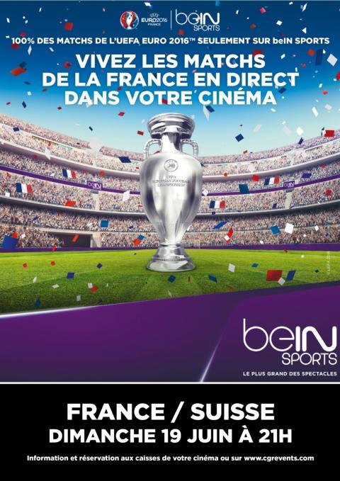 UEFA EURO 2016 | match France Suisse