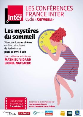 Les mystères du sommeil | Conférence France Inter