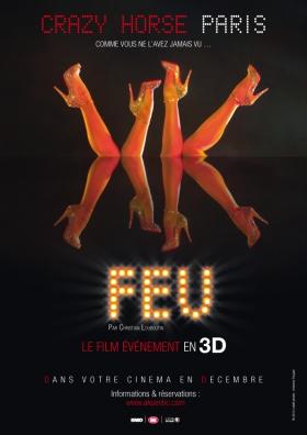 FEU 3D | CRAZY HORSE PARIS